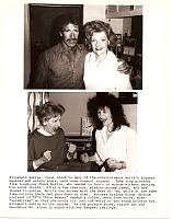 Elizabeth Sabine with Chuck Norris Lindsay Bloom