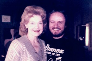 Elizabeth Sabine with Donnie Van Zant 38 Special