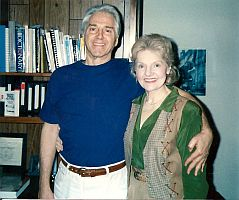 Elizabeth Sabine with Robert Mazzarella