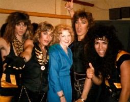 Elizabeth Sabine with Michael Sweet and Stryper